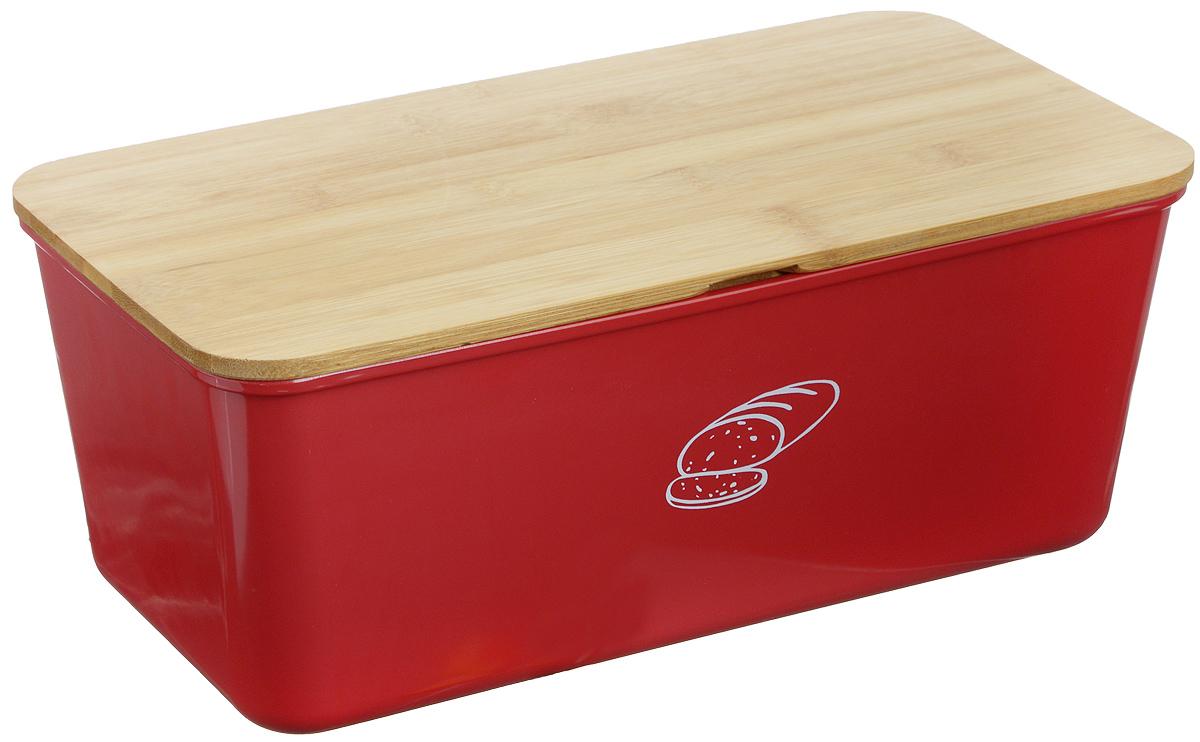 Хлебница Kesper, 34 х 18 х 13 см1809-3Хлебница Kesper представляет собой контейнер из высококачественного пластика с крышкой. Крышка, выполненная из древесины, также служит разделочной доской. Материал не содержит вредных примесей и токсинов. Хлебница Kesper позволит сохранить ваш хлеб свежим и вкусным. Можно мыть в посудомоечной машине. Размер хлебницы: 34 см х 18 см х 13 см. Размер доски: 34 см х 18 см х 0,6 см.