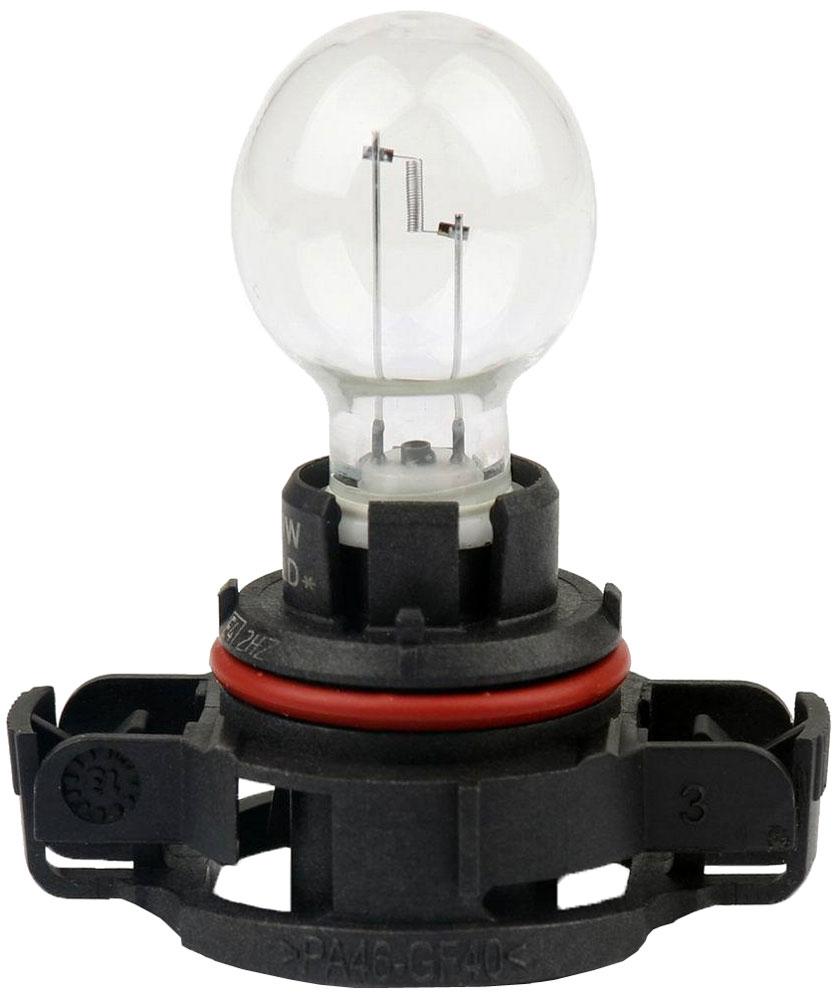 Лампа автомобильная галогенная сигнальная Philips Vision, цоколь PS19W (PG20/1), 12V, 19W12085C1Автомобильная лампа Philips Vision изготовлена из запатентованного кварцевого стекла с УФ-фильтром Philips Quartz Glass. Кварцевое стекло в отличие от обычного стекла выдерживает гораздо большее давление и больший перепад температур. При попадании влаги на работающую лампу, лампа не взрывается и продолжает работать. Лампа Philips Vision производит на 30% больше света по сравнению со стандартной лампой, благодаря чему стоп-сигналы или указатели поворота будут заметны с большего расстояния. Лампа Philips Vision отличается высокой эффективностью, соответствуя всем современным требованиям.