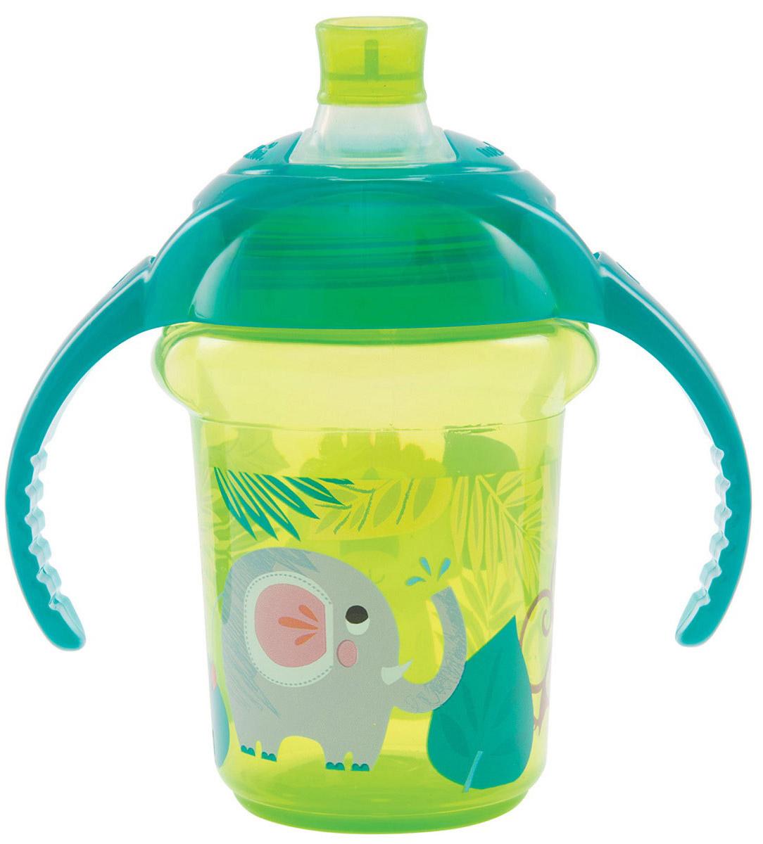 Munchkin Чашка-поильник Click Lock от 6 месяцев цвет салатовый бирюзовый 207 мл