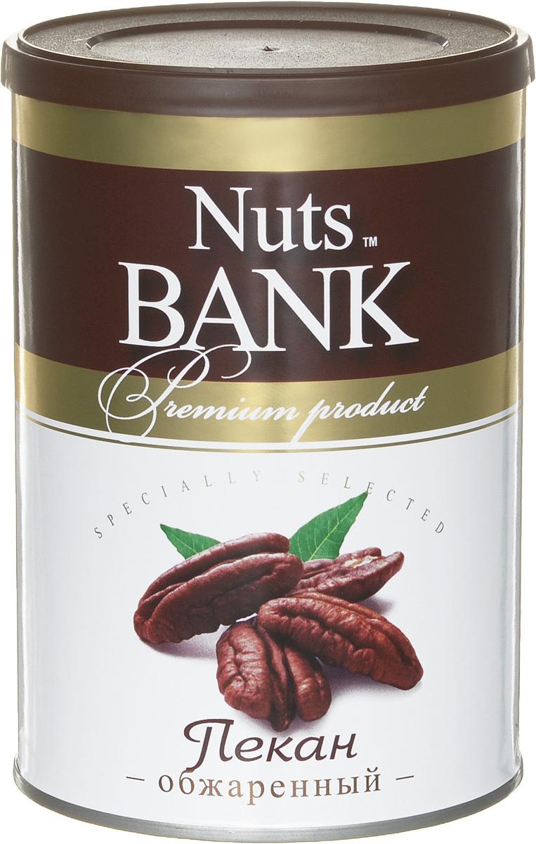 Nuts Bank Пекан обжаренный, 150 гU920258Пекан чрезвычайно богат витаминами и микроэлементами, которые благодаря природной формуле прекрасно усваиваются организмом человека. Орех также содержит витамины А, В и Е, калий, фосфор и цинк, которые способствуют снижению уровня холестерина в крови и хорошо влияют на зрение человека.