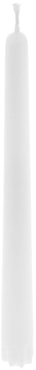 Набор свечей Duni, цвет: белый, высота 24 см, 10 шт151069Набор Duni, состоящий из 10 свечей конической формы, выполнен из 100% стеарина. Duni - создатели атмосферы вдохновения, сюрпризов и праздников для вас и ваших детей! Используя современные инновации, высококачественные материалы, оригинальный дизайн, свечи делают вашу трапезу незабываемым и волшебным праздником. Такой набор украсит интерьер вашего дома или офиса и наполнит его атмосферу теплом и уютом. Высота свечи (без учета фитиля): 24 см. Диаметр основания свечи: 2,2 см.