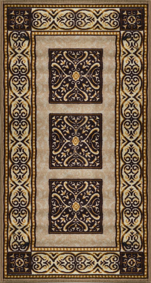 Коврик для ванной MAC Carpet Розетта, цвет: коричневый, 80 х 150 см21329/корКоврик для ванной MAC Carpet Розетта изготовлен из нейлона на резиновой основе. Такие коврики с успехом могут применяться как в ванных комнатах, так и во всех других помещениях, где необходима защита от влаги. Также подойдет для прихожей или комнаты. Нейлон обеспечивает повышенную износостойкость и простоту в уходе. Такой коврик стильно дополнит интерьер помещения.