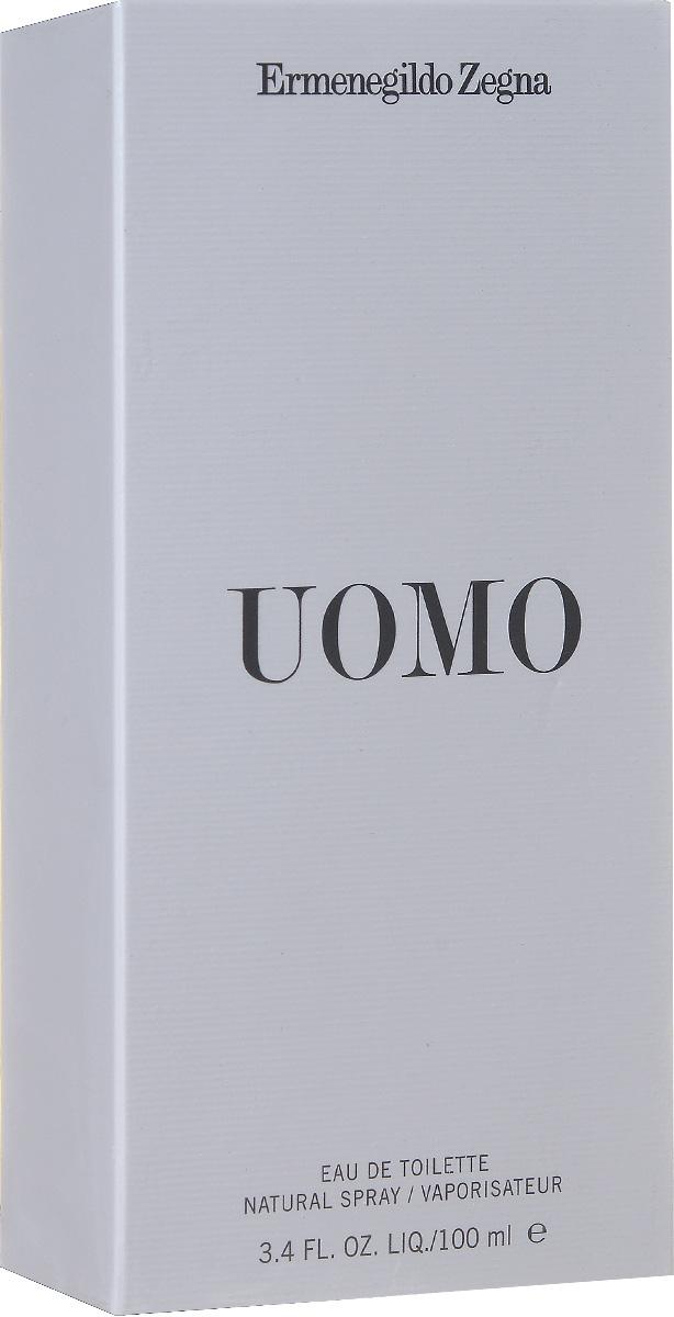 Ermenegildo Zegna Uomo Туалетная вода мужская 100 мл 531R010000