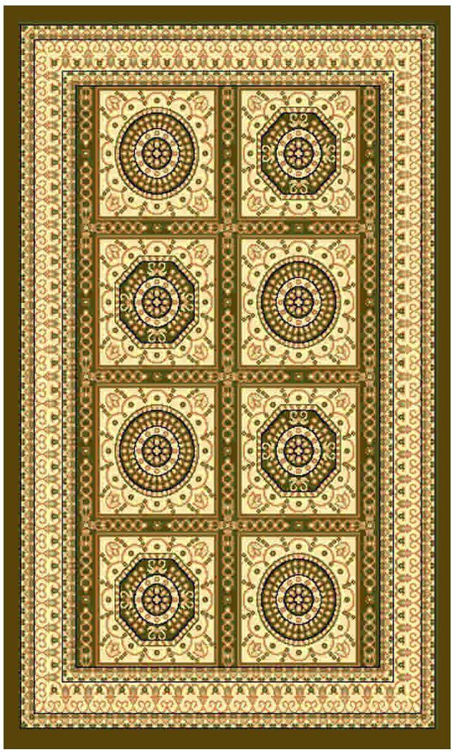 Ковер Kamalak tekstil, прямоугольный, цвет: зеленый, 50 x 100 см. УК-0438УК-0438Ковры-паласы выполнены из полипропилена. Ковры обладают хорошими показателями теплостойкости и шумоизоляции. Являются гиппоалергенными. За счет невысокого ворса ковры легко чистить. Вам придется по душе широкая гамма цветов и возможность гармонично оформить интерьер. Практичный и устойчивый к износу ворс - от постоянного хождения не истирается, не накапливает статическое электричество. Структура волокна в полипропиленовых моделях гладкая, поэтому грязь не может выесться, на ворсе она скапливается с трудом. Полипропилен не впитывает влагу, отталкивает водянистые пятна. Уход: Самый простой способ избавить изделие от грязи – пропылесосить его с обеих сторон (лицевой и изнаночной). Влажная уборка с применением шампуней и моющих средств не противопоказана. Если шерсти и шёлку универсальные чистящие составы не подходят, то для синтетики они придутся в самый раз. Хранить их нужно рулоном, не складывая «салфеткой». При надлежащем уходе синтетический ковёр прослужит долго, не утратив ни...