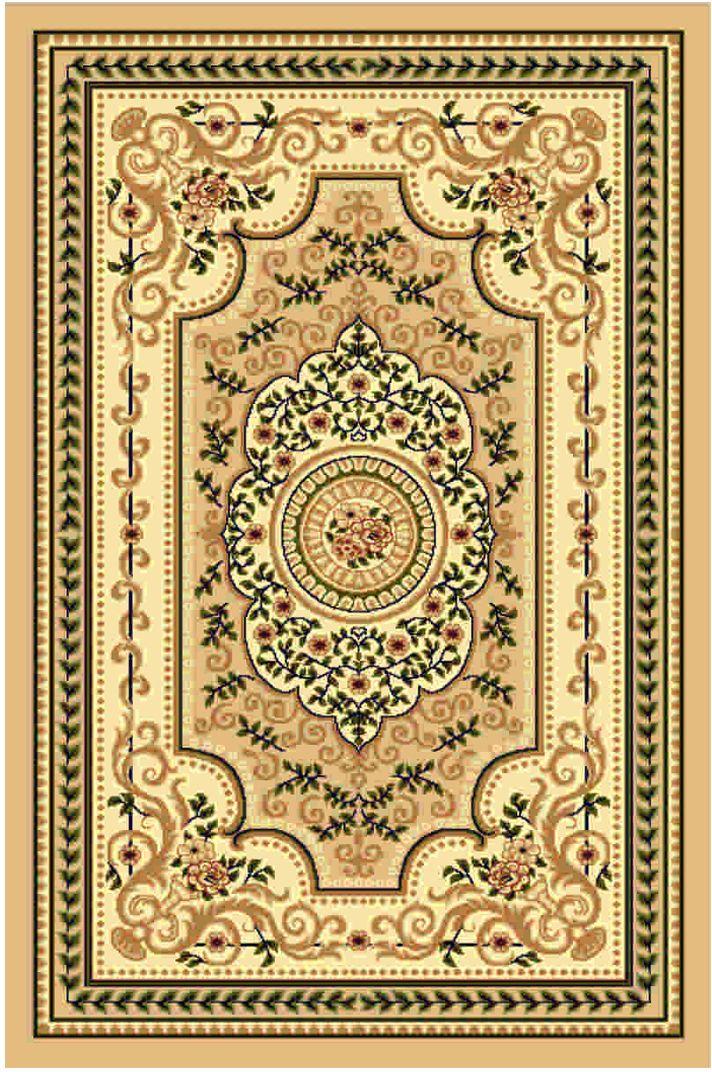 Ковер Kamalak tekstil, прямоугольный, 50 x 100 см. УК-051420103Ковер Kamalak Tekstil изготовлен из прочного синтетического материала heat-set, улучшенного варианта полипропилена (эта нить получается в результате его дополнительной обработки). Полипропилен износостоек, нетоксичен, не впитывает влагу, не провоцирует аллергию. Структура волокна в полипропиленовых коврах гладкая, поэтому грязь не будет въедаться и скапливаться на ворсе. Практичный и износоустойчивый ворс не истирается и не накапливает статическое электричество. Ковер обладает хорошими показателями теплостойкости и шумоизоляции. Оригинальный рисунок позволит гармонично оформить интерьер комнаты, гостиной или прихожей. За счет невысокого ворса ковер легко чистить. При надлежащем уходе синтетический ковер прослужит долго, не утратив ни яркости узора, ни блеска ворса, ни упругости. Самый простой способ избавить изделие от грязи - пропылесосить его с обеих сторон (лицевой и изнаночной). Влажная уборка с применением шампуней и моющих средств не противопоказана. Хранить рекомендуется в свернутом рулоном виде.