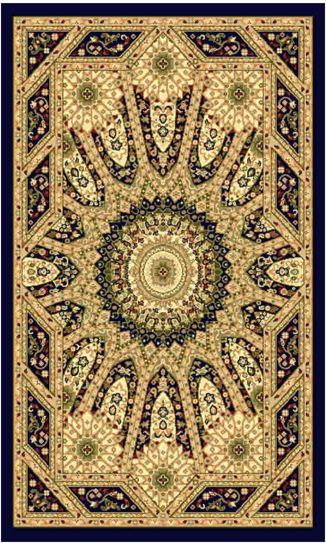 """Ковер """"Kamalak tekstil"""", прямоугольный, 50 x 100 см. УК-0482"""