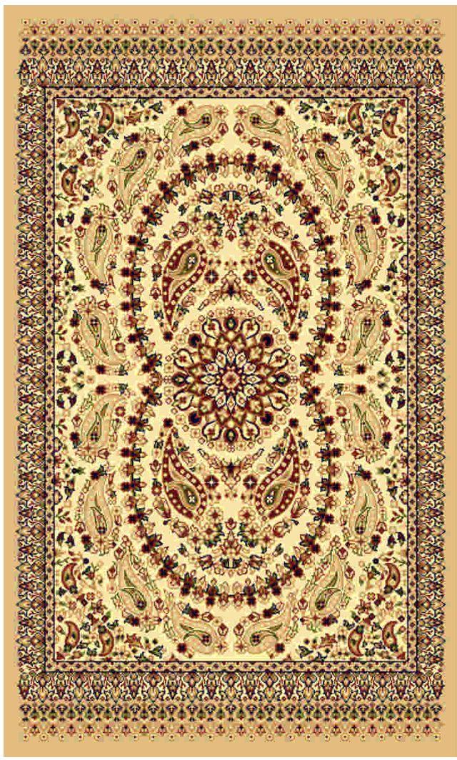 Ковер Kamalak tekstil, прямоугольный, 100 x 150 см. УК-01676113MКовер Kamalak Tekstil изготовлен из прочного синтетического материала heat-set, улучшенного варианта полипропилена (эта нить получается в результате его дополнительной обработки). Полипропилен износостоек, нетоксичен, не впитывает влагу, не провоцирует аллергию. Структура волокна в полипропиленовых коврах гладкая, поэтому грязь не будет въедаться и скапливаться на ворсе. Практичный и износоустойчивый ворс не истирается и не накапливает статическое электричество. Ковер обладает хорошими показателями теплостойкости и шумоизоляции. Оригинальный рисунок позволит гармонично оформить интерьер комнаты, гостиной или прихожей. За счет невысокого ворса ковер легко чистить. При надлежащем уходе синтетический ковер прослужит долго, не утратив ни яркости узора, ни блеска ворса, ни упругости. Самый простой способ избавить изделие от грязи - пропылесосить его с обеих сторон (лицевой и изнаночной). Влажная уборка с применением шампуней и моющих средств не противопоказана. Хранить рекомендуется в свернутом рулоном виде.