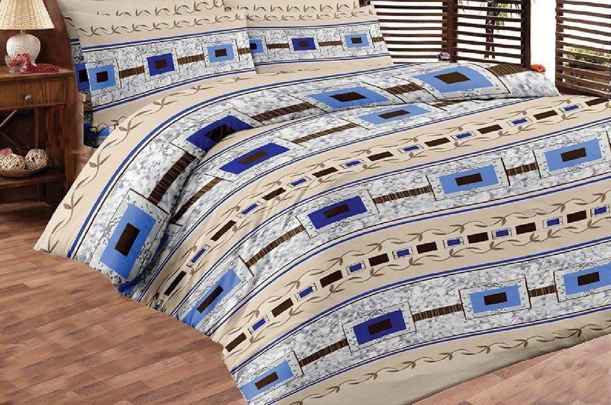 Комплект белья Liya Home Collection Модерн, 1,5-спальный, наволочки 70x70, цвет: синий0000120001886Liya Tekstil производитель тканей и готовой продукции для дома.В нашем ассортименте комплекты постельного белья из - поплина ( 100% хлопок пл 115х125 гр/м2 ),- сатина ( 100% хлопок пл 130х140 гр/м2,) ,поликаттон (60%хлопка,40%пэ 115гр/м2), крашение реактив.Мы гарантируем ГОСТовский пошив наших комплектов, эксклюзивная упаковка которая пользуется спросом на рынке.