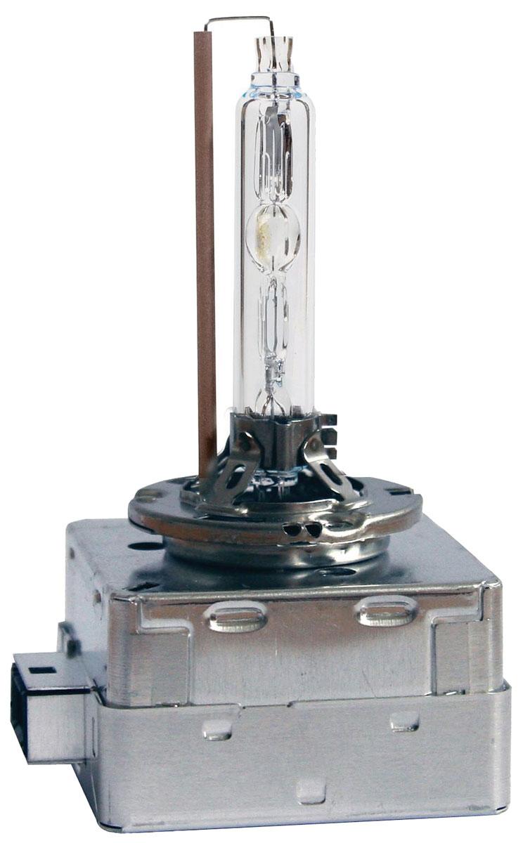 Лампа автомобильная ксеноновая Philips Xenon Vision, для фар, цоколь D3S (PK32d-5), 42V, 35W42403VIC1Ксеноновая лампа для автомобильных фар Philips Xenon Vision изготовлена из кварцевого стекла, устойчивого к УФ-излучению. Такое стекло обладает более высокой прочностью (по сравнению с тугоплавким стеклом) и отличается высокой устойчивостью к перепадам температур и вибрации. Например, при попадании влаги на работающую лампу изделие не взрывается и продолжает работать. Лампы выдерживают высокое внутреннее давление, поэтому такое кварцевое стекло обеспечивает более мощный свет. Лампы Xenon HID (High Intensity Discharge - разряд высокой интенсивности) производят в два раза больше света, обеспечивая лучшую видимость на дороге в любых условиях. Интенсивный белый свет ламп Xenon HID, схожий с дневным светом, помогает водителям сохранять концентрацию внимания и быстрее реагировать на препятствия и дорожные знаки, чем при использовании традиционных ламп. Ксеноновые лампы Philips Xenon Vision позволяют заменить одну перегоревшую ксеноновую лампу, так как цветовая температура...