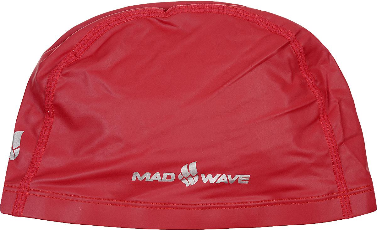 Шапочка для плавания Mad Wave PUT Coated, цвет: красный10007082Текстильная шапочка Mad Wave PUT Coated с полиуретановым покрытием. Лучший выбор для ежедневных тренировок. Легкая и эргономичая. Легко снимается и надевается, хорошо садится по форме головы и очень комфортна, благодаря комбинации нескольких материалов.