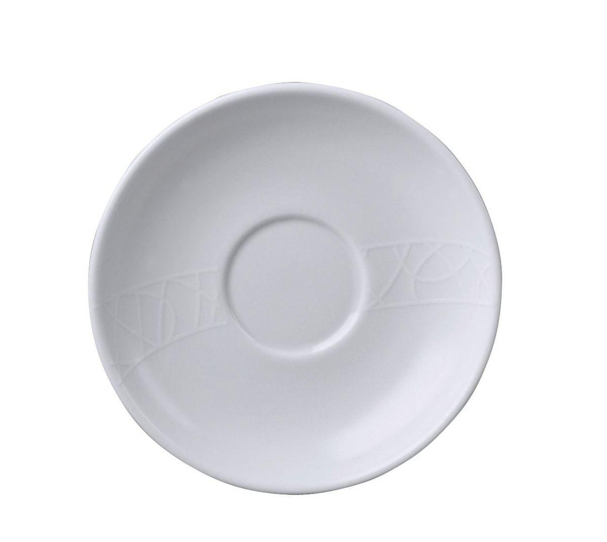Блюдце кофейное Churchill, диаметр 13,5 см. 670202501670202501Джейми Оливер. Простой орнамент с тонкими текстурными линиями. Коллекция «Белое на белом» - лёгкий и непринуждённый стиль. Посуда этой коллекции износостойкая и ударопрочная.