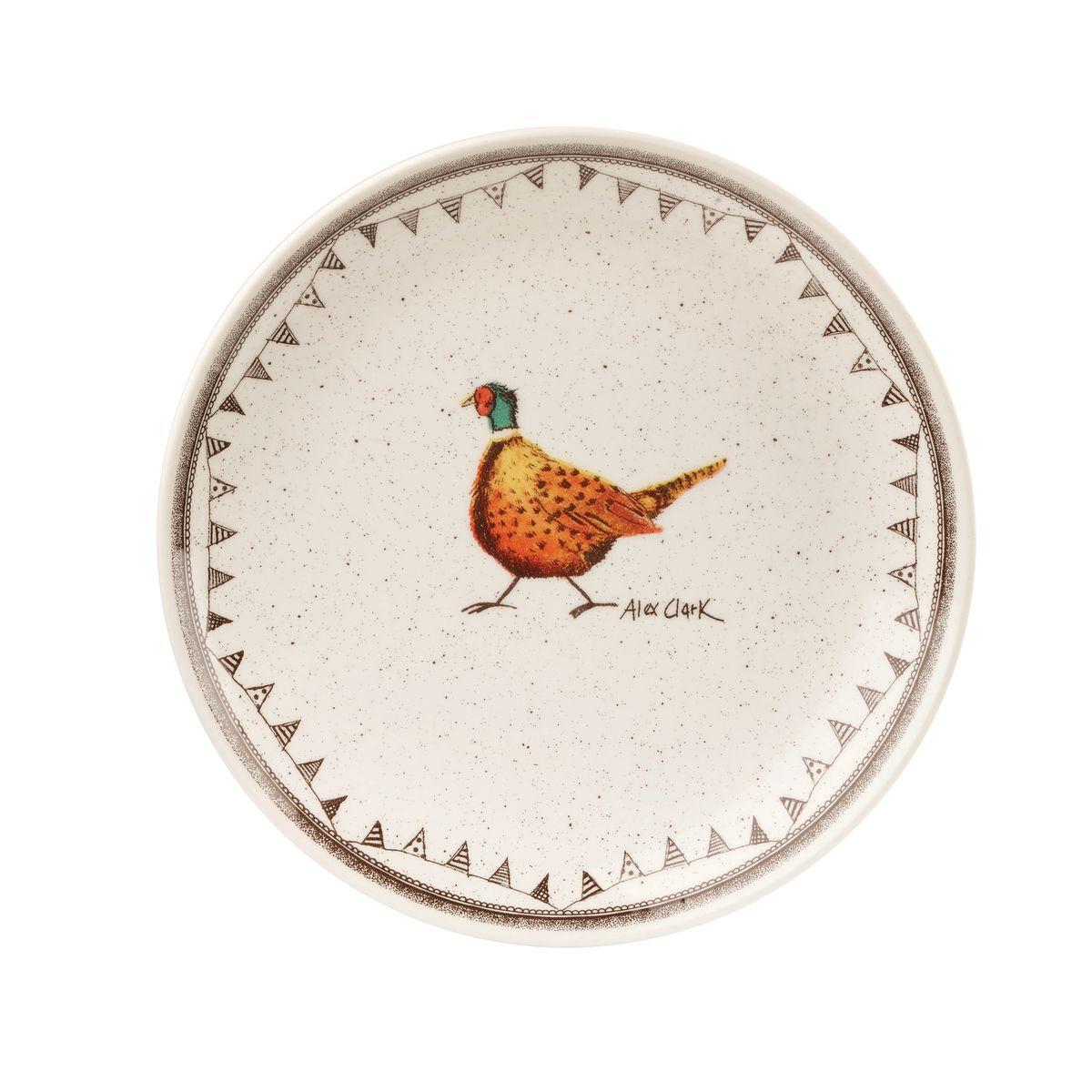 Тарелка десертная Churchill, диаметр 20 см. ACWL00071ACWL00071Коллекция Живая природа - уникальное сочетание живой природы и прекрасные воспоминания из детства. Лёгкий и простой дизайн с пастельными красками идеально подойдёт для любой кухни. Материал: Фарфор, керамика, фаянс, костяной фарфор. Можно мыть в посудомоечной машине Можно использовать в микроволновой печи