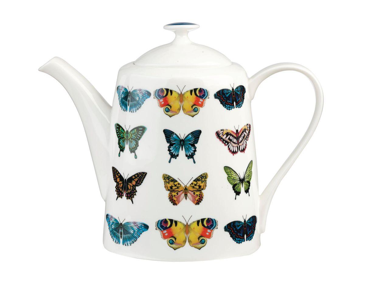 Чайник заварочный Churchill Бабочки, 950 млHARL00301Чайник заварочный Churchill Бабочки выполнен из высококачественного костяного фарфора и украшен оригинальным изображением бабочек. Такой чайник отлично дополнит сервировку стола к чаепитию. Можно мыть в посудомоечной машине. Можно использовать в микроволновой печи.