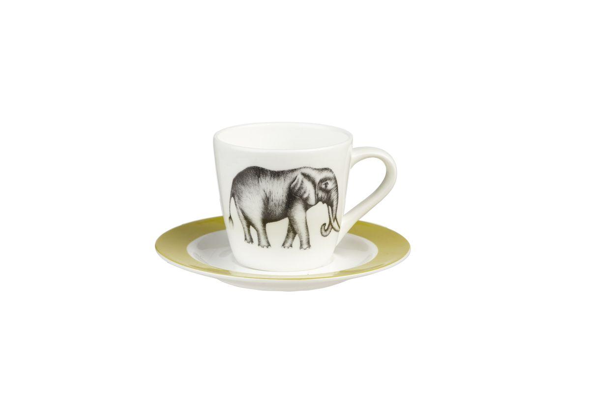 Набор кофейный Churchill, 4 предмета. HARL00331115610Коллекция Арлекин красиво упакована в подарочные коробки. При изготовлении данной коллекции используют лучший костяной фарфор. Материал: Костяной фарфор, фарфорМожно мыть в посудомоечной машинеМожно использовать в микроволновой печи