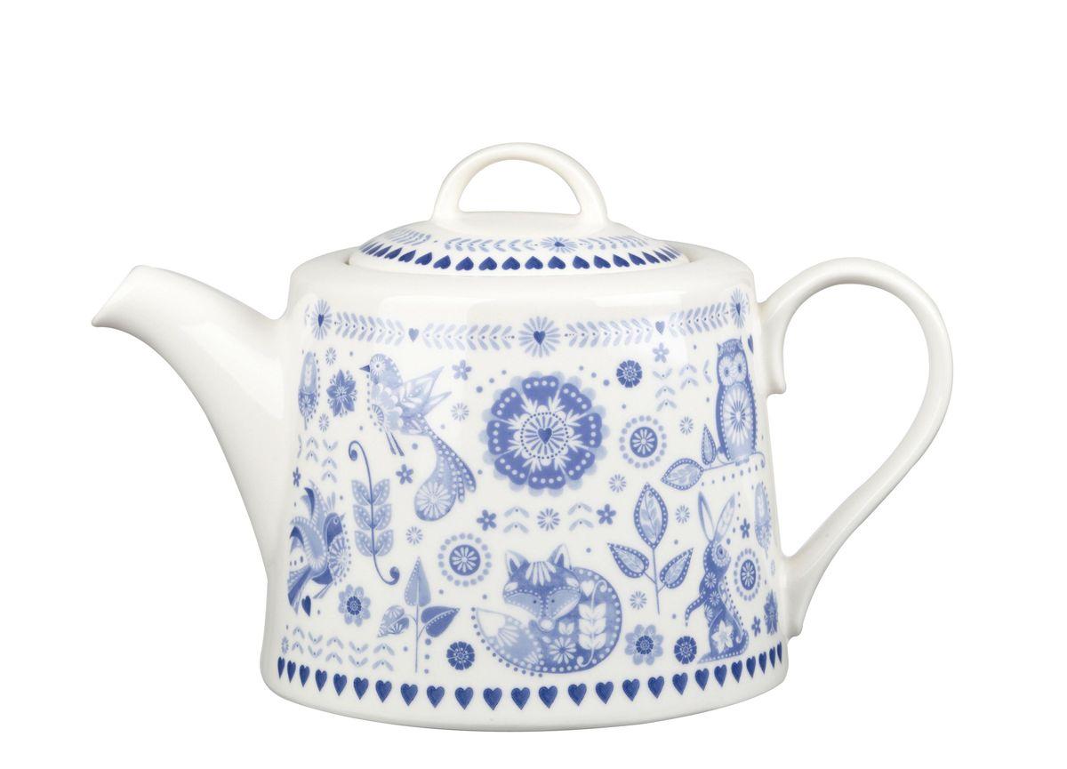 Чайник заварочный Churchill Адмирал, 830 мл. PENZ00111PENZ00111Коллекция Penzance - классическое сочетание синего и белого с народным дизайном. Материал: фарфор, фаянс, керамика. Можно мыть в посудомоечной машине Можно использовать в микроволновой печи
