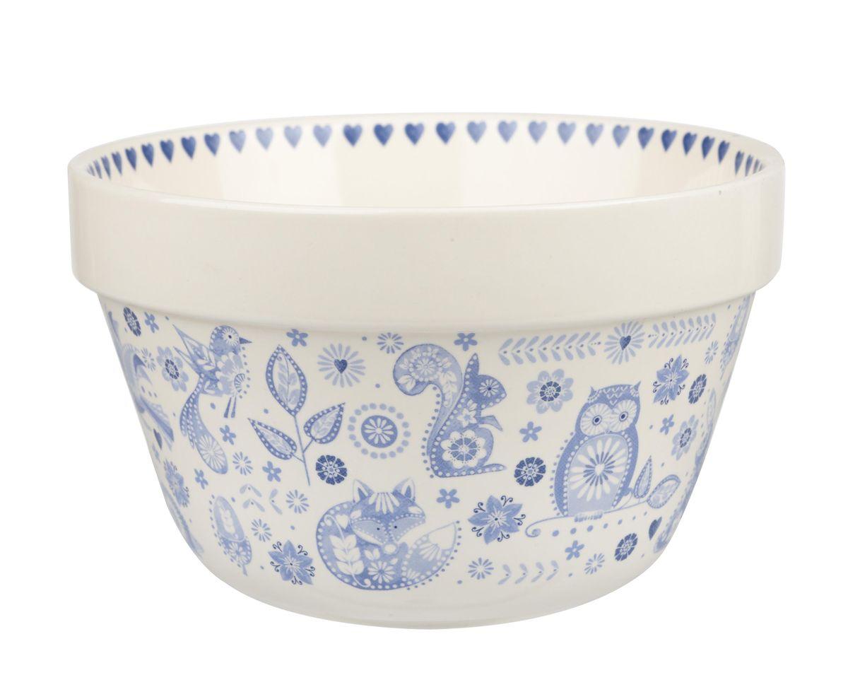 Чаша Churchill, 1000 мл. PENZ00331CM000001328Коллекция Penzance - классическое сочетание синего и белого с народным дизайном. Материал: фарфор, фаянс, керамика.Можно мыть в посудомоечной машинеМожно использовать в микроволновой печи