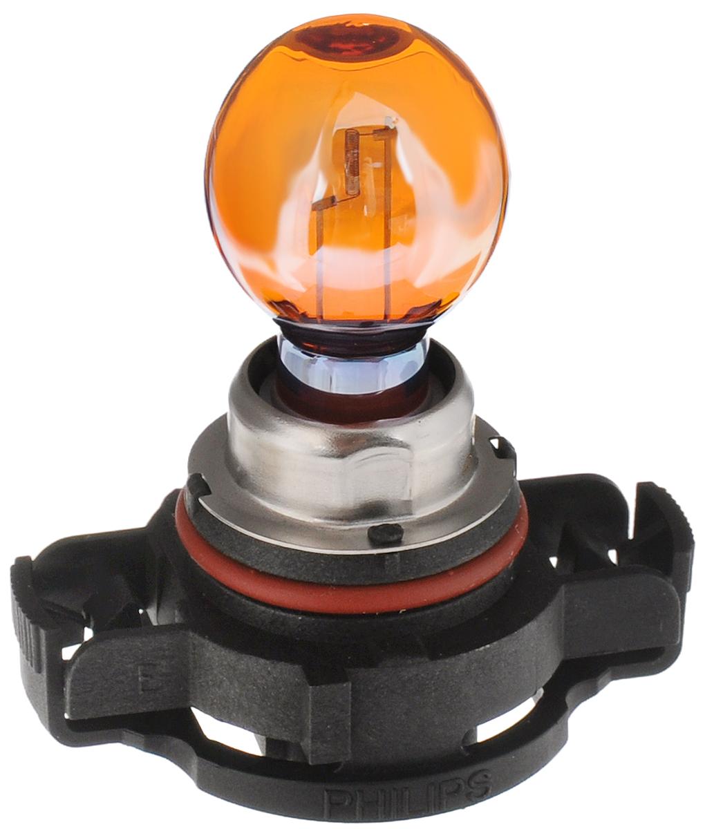 Сигнальная автомобильная лампа Philips HiPerVision Silver Vision PSY24W 12V-24W (PG20/4) серебристый дизайн 12180SV+C112180SV+C1Автомобильные лампы Philips - ваш надежный путеводитель на дорогах. Грамотно продуманный ассортимент и ценовая политика Philips позволяют автомобилисту подобрать автомобильную лампу согласно своих пожеланий. Классическое решение от Philips различного назначения для всех видов автомобилей. Напряжение: 12 вольт