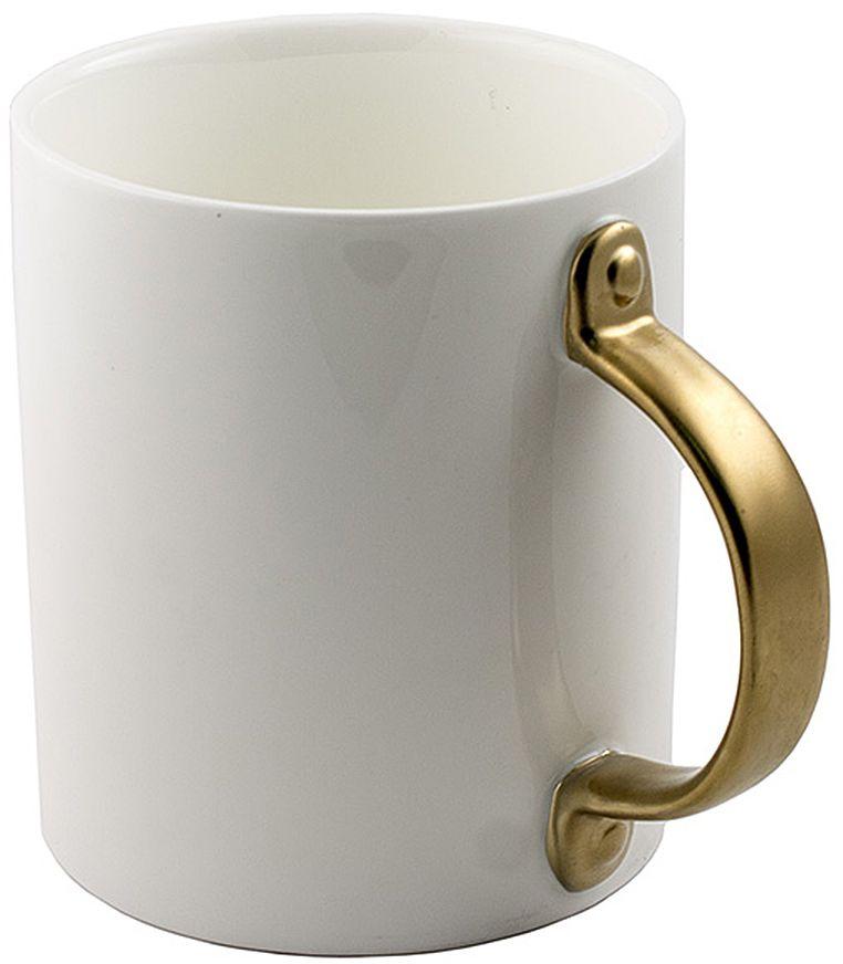 Кружка Эврика, с дверной ручкой, цвет: белый96892Кружка Эврика выполнена из керамики и имеет необычную ручку. Эта удивительная кружка будто приоткрывает дверь в новый мир. Стоит взяться за оригинальную ручку, наполнить кружку бодрящим напитком и - утро становится добрее, день ярче, вечер теплее.