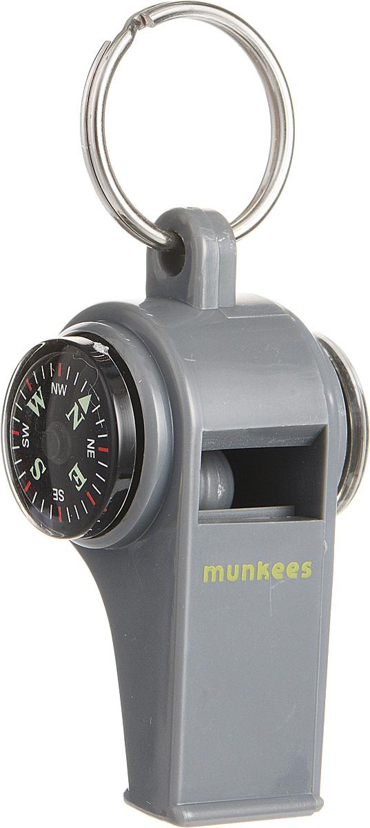 Свисток Munkees с компасом и термометром3339Свисток Munkees с компасом и термометром - звонко, легко, многофункционально. Всегда под рукой компас для контроля направления движения и термометр для определения изменений температуры. Сам свисток можно использовать как на групповых тренировках, можно в качестве дрессировки собак, а можно и в экстренных случаях, обратить на себя внимание либо отпугнуть недоброжелателей или агрессивных животных. Свисток оснащен кольцом для подвешивания.