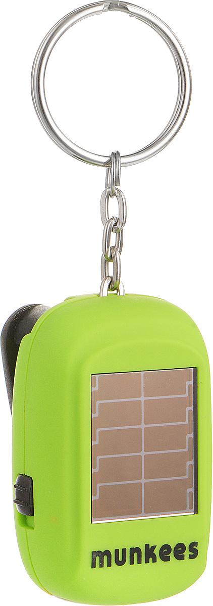 Брелок MUNKEES Вечный фонарикЛЦ0036Брелок MUNKEES Вечный фонарик выполнен из матового, приятного на ощупь ударопрочного пластика. Изделие имеет небольшой аккумулятор, который питается от встроенной солнечной батареи, и динамо элемент, который позволяет работать фонарю от вращения откидного рычага фонаря.Благодаря яркому дизайну и матовой поверхности, брелок станет оригинальным и практичным подарком.