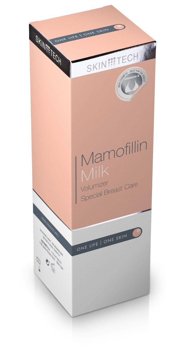 Skin Tech Косметическое молочко для груди Mamofilline, 200 млAC-D5-26Мягкое косметическое молочко для специального ухода за кожей бюста: повышает ее эластичность и упругость, восстанавливает оптимальный уровень увлажненности, уменьшает признаки ослабления кожных тканей. Особое сочетание активных ингредиентов помогает добиться превосходных результатов: улучшить эластичность и уменьшить симптомы ослабления или сухости кожи. Быстро впитывается и не вызывает ощущения жирности или липкости. Показания: рекомендуется после беременности и кормления грудью, во время и после резкой потери веса и в любых других случаях при потере объема груди. Продукт дерматологически тестирован. Не содержит парабенов.