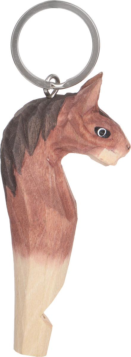 Брелок-свисток Munkees Лошадь3357Брелок-свисток Munkees Лошадь - это свисток с вырезанной вручную фигуркой, выполненной из дерева. Фигурка символизирует знак зодиака по восточному календарю. Сам свисток можно использовать на групповых тренировках, можно в качестве дрессировки собак, а можно и в экстренных случаях, обратить на себя внимание либо отпугнуть недоброжелателей или агрессивных животных. Такой свисток станет оригинальным и практичным подарком.