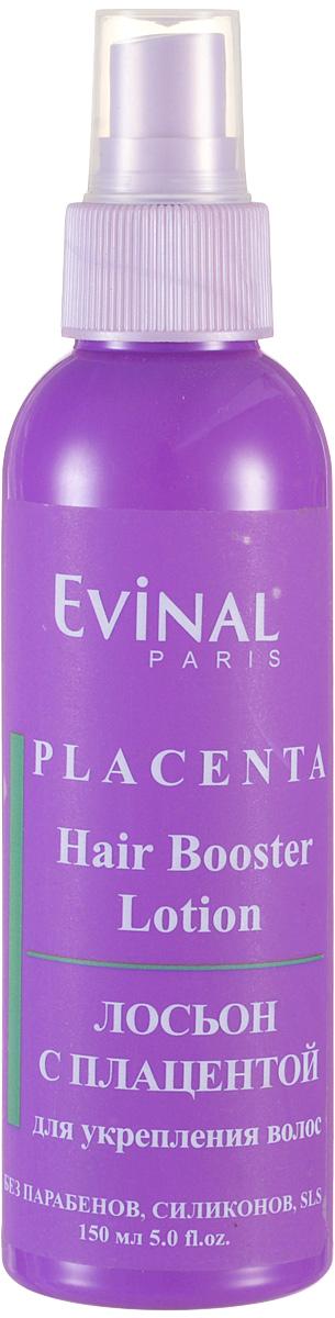 Evinal Лосьон с экстрактом плаценты, для укрепления волос, 150 млБ33041_шампунь-барбарис и липа, скраб -черная смородинаЛосьон Evinal с экстрактом плаценты рекомендуется при выраженном выпадении волос различного происхождения, для ухода за поврежденными, тонкими и ослабленными волосами.Лосьон эффективно останавливает выпадение волос. Сочетание экстракта плаценты с растительными веществами приводит к выраженному росту волос даже на абсолютно облысевшей коже головы. Укрепляет волосы и защищает их от пересушивания и вредных внешних воздействий. Предотвращает расслаивание кончиков волос, укрепляет волосы и делает их мягкими и блестящими.Способ применения:Втирается в корни волос до полного впитывания. Можно не смывать. Для получения максимального эффекта применяется ежедневно.