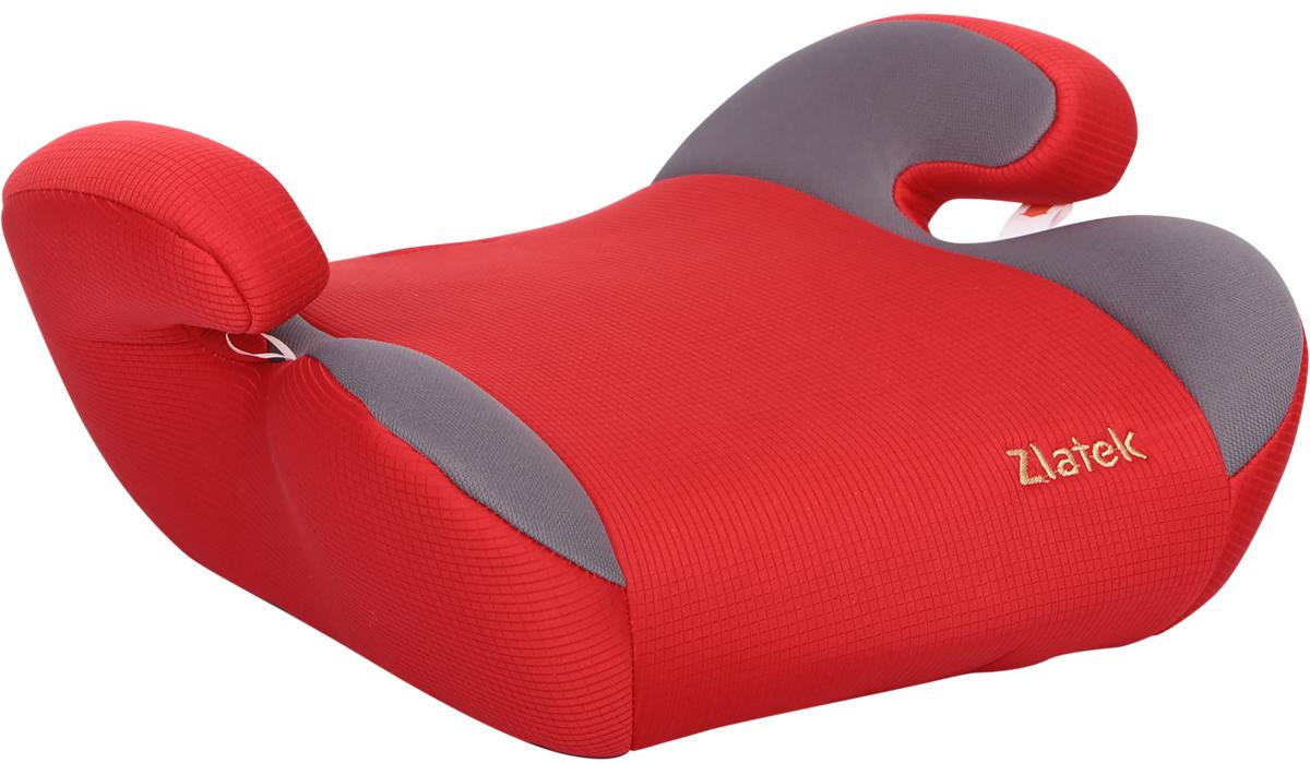 Zlatek Бустер Raft цвет красныйKRES0493Детское автокресло, типа бустер Zlatek «Raft» относится к возрастной группе 3, для детей от 6 до 12 лет, весом от 22 до 36 кг. В основе кресла Zlatek «Raft» усиленный каркас. Износостойкий съемный чехол выполнен из нетоксичного гипоаллергенного материала, легко стирается. Детские удерживающие устройства Zlatek разработаны и сделаны в России с учетом анатомии российских детей. Увеличенное посадочное место обеспечивает удобство в поездке, как в летней, так и в зимней одежде. Автокресло успешно прошло все необходимые краш-тесты и имеет сертификат соответствия техническому регламенту РФ и таможенному союзу.