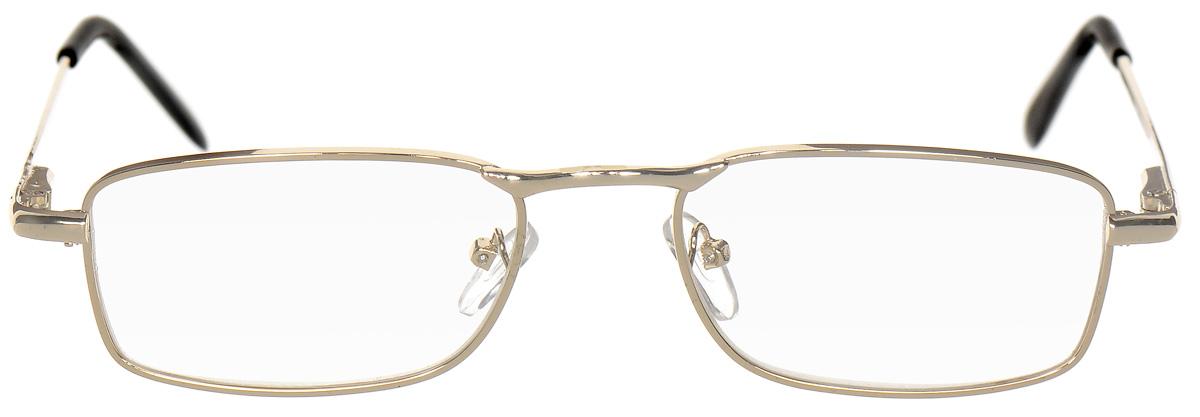 Proffi Home Очки корригирующие (для чтения) 5858 Ralph +1.50, цвет: золотойPH5494Корригирующие очки, это очки которые направлены непосредственно на коррекцию зрения. Готовые очки для чтения с минусовыми и плюсовыми диоптриями (от -2,5 до + 4,00), не требующие рецепта врача. За счет технологически упрощенной конструкции и отсуствию этапа изготовления линз по индивидуальным параметрам - экономичный готовый вариант для людей, пользующихся очками нечасто, в основном, для чтения.