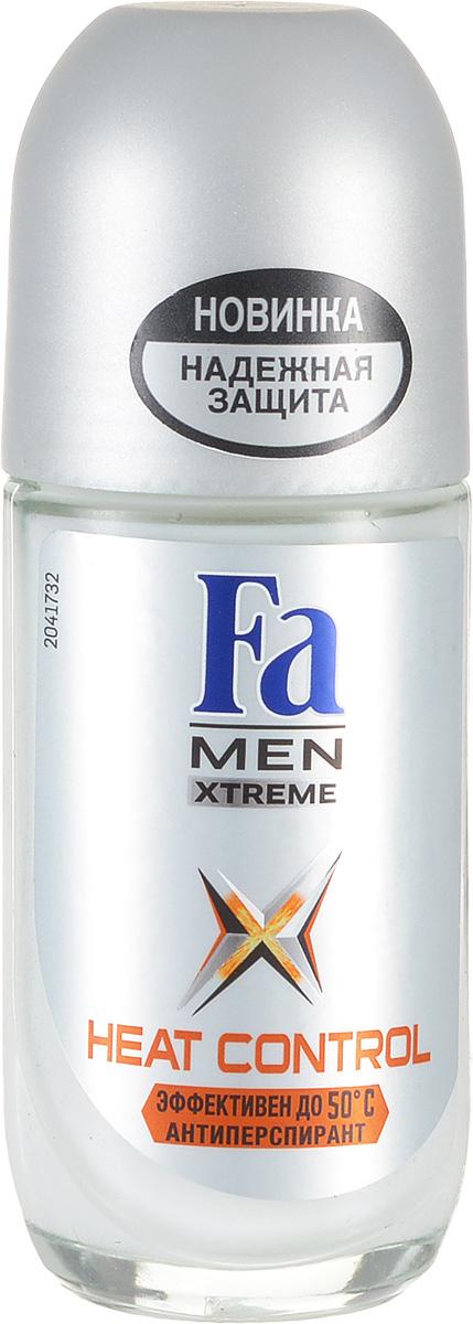 FA MEN Xtreme Дезодорант роликовый Heat Control, 50 мл120854386Fa MEN антиперспирант Xtreme Heat Control. При повышении температуры усовершенствованная формула усиливает уровень защиты для экстремального контроля над потом в любой ситуации. Клинические испытания доказали эффективную защиту против пота и запаха, даже в экстремально жарких условиях. Протестирован при t до 50°C. Также почувствуйте экстремальную свежесть, принимая душ с гелем для душа Fa Men Xtreme.