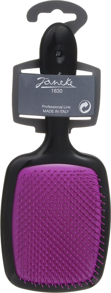 Janeke Щетка для волос. 71SP227 RSA805791Марка Janeke – мировой лидер по производству расчесок, щеток, маникюрных принадлежностей, зеркал и косметичек. Марка Janeke, основанная в 1830 году, вот уже почти 180 лет поддерживает непревзойденное качество своей продукции, сочетая новейшие технологии с традициями старых миланских мастеров. Все изделия на 80% производятся вручную, а инновационные технологии и современные материалы делают продукцию марки поистине уникальной. Стильный и эргономичный дизайн, яркие цветовые решения – все это приносит истинное удовольствие от использования аксессуаров Janeke. Цветная линия - это расчески и щетки, изготовленные из высококачественного пластика.