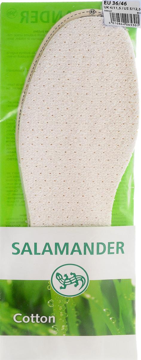 SALAMANDER Cotton Стелька хлопок латекс универсальнаяNTS-101C blueМягкая амортизирующая стелька. Пригодна для носки на босу ногу. Хлопок на основе вспененного латекса с чистым активированным углем поглощает влагу и неприятные запахи.