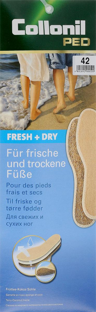 Стелька Collonil Fresh & Dry. Размер 429033 420Стелька из хлопчатобумажной махровой ткани и воздушных кокосовых волокон