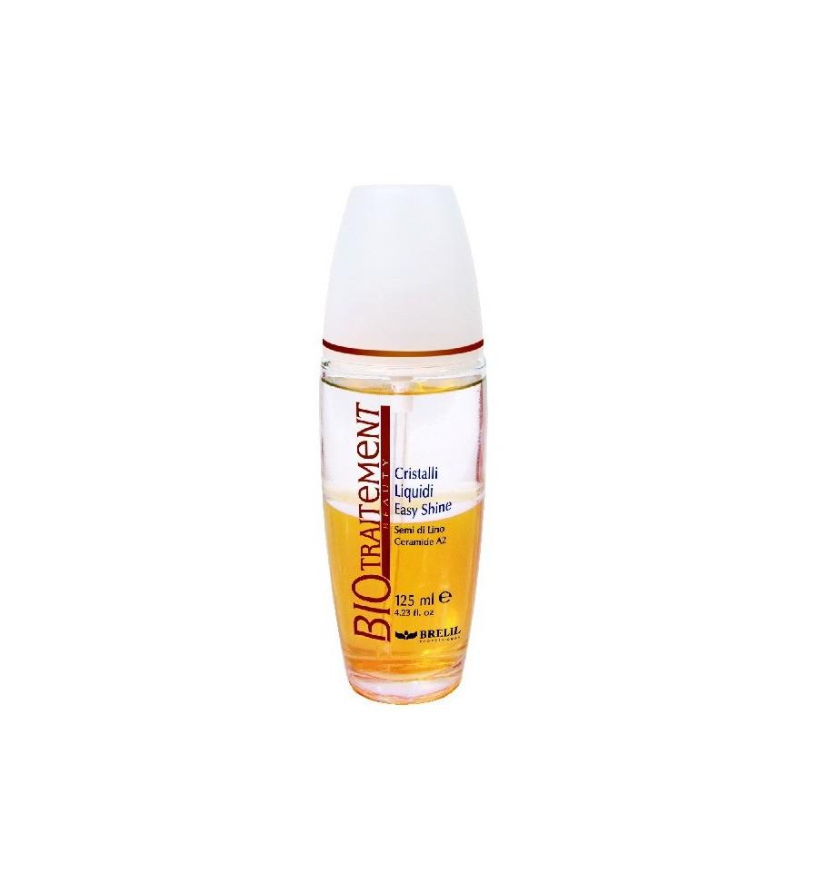 Brelil Блеск для волос Жидкие кристаллы Bio Traitement Beauty Liquid Crystal, 125 млMP59.4DЖидкость против секущихся кончиков Brelil Bio Traitement Beauty Liquid Crystal с эффектом бриллиантового блеска предназначена для восстановления ломких, тонких и секущихся волос. Содержащиеся в составе жидкости экстракт льняного семени и Керамид А2 мягко ухаживают за волосами, насыщая волосы необходимыми витаминами и питательными веществами и эффективно восстанавливая структуру волос. Не содержит масла.