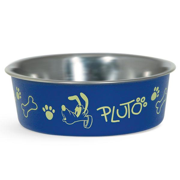 Миска для животных Triol Disney. Pluto, 750 мл0120710Металлическая миска с пластиковым покрытием. Резиновое кольцо в основании миски препятствует ее скольжению во время использования.
