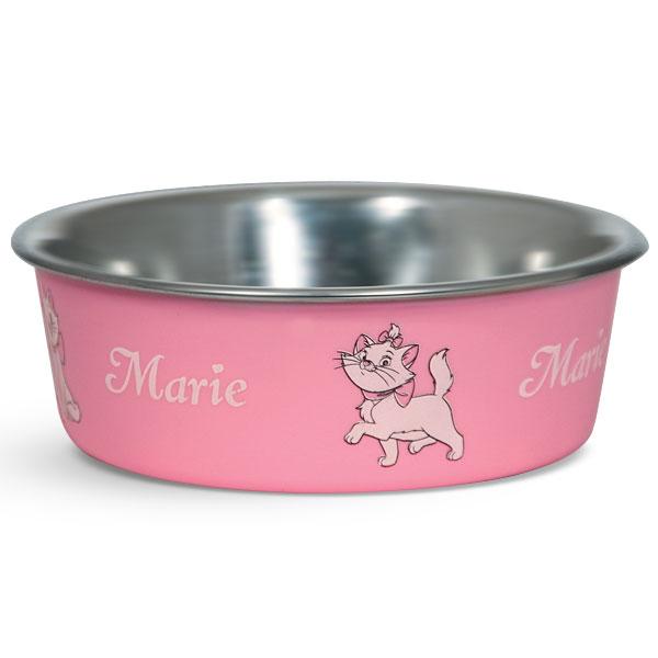 Миска для животных Triol Disney. Marie, 250 млWD3006Металлическая миска с пластиковым покрытием. Резиновое кольцо в основании миски препятствует ее скольжению во время использования.