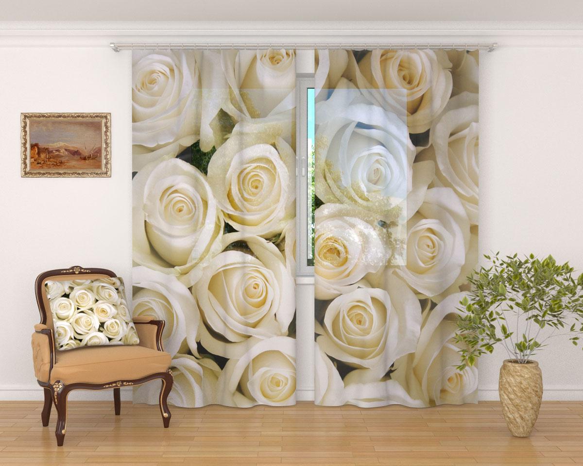Комплект фототюлей Сирень Душистые розы, на ленте, высота 260 см02331-ФТ-ВЛ-001Фототюль Сирень Душистые розы из легкой парящей ткани - вуали - благодаря своей прозрачности позволяет создать в комнате уютную атмосферу, отлично дополняет украшение любого окна. Ткань хорошо держит форму, не требует специального ухода. Яркая и чёткая картинка будет радовать вас каждый день. Крепление на карниз при помощи шторной ленты на крючки. В комплекте: 2 тюля. Ширина полотна: 145 см. Высота полотна: 260 см. Рекомендации по уходу: стирка при 30 градусах, гладить при температуре до 110 градусов. Изображение на мониторе может немного отличаться от реального.