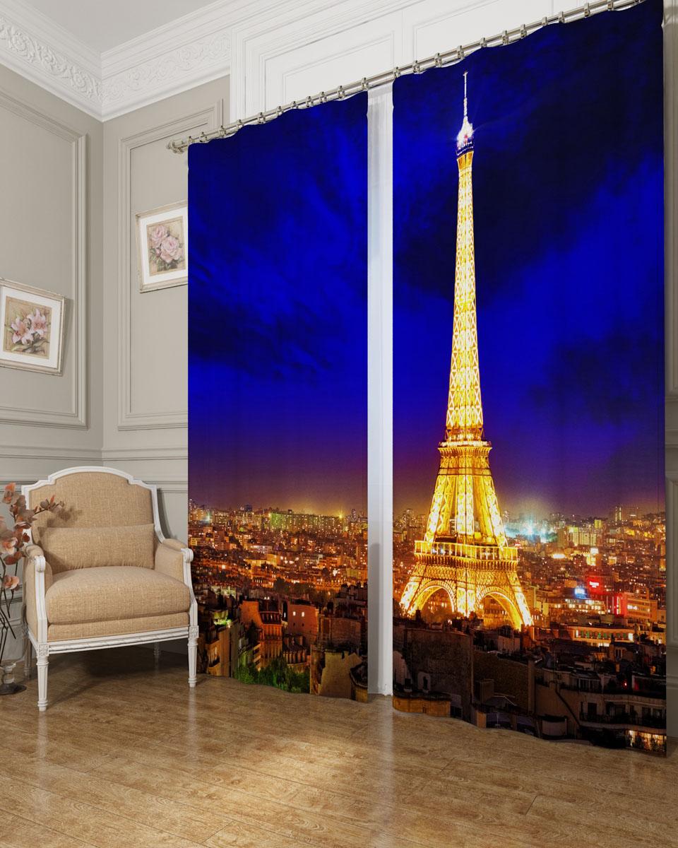 Комплект фотоштор Сирень Яркий Париж, на ленте, высота 260 см. 03238-ФШ-БЛ-00103238-ФШ-БЛ-001Фотошторы Сирень Яркий Париж, выполненные из блэкаута, отлично дополнят украшение любого интерьера. Блэкаут - это трехслойная светонепроницаемая ткань - 100% полиэстер, по структуре напоминает плотный хлопок, очень мягкий,с небольшим сероватым оттенком из-за черной нити, входящей в состав ткани. Блэкаут не требует особого ухода, хорошо драпируется. Пропускает солнечные лучи не более 5%. Крепление на карниз при помощи шторной ленты на крючки. В комплекте 2 шторы. Ширина одного полотна: 145 см. Высота штор: 260 см. Рекомендации по уходу: стирка при 30 градусах, гладить при температуре до 110 градусов. Изображение на мониторе может немного отличаться от реального.