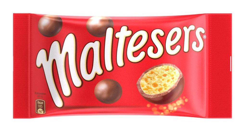 Maltesers Драже Шоколадные Шарики, 37 г0120710Драже Maltesers - это хрустящие шарики, покрытые молочным шоколадом. Maltesers - легкий взгляд на шоколад. Maltesers - настолько нежные и легкие, что даже не тонут в воде.