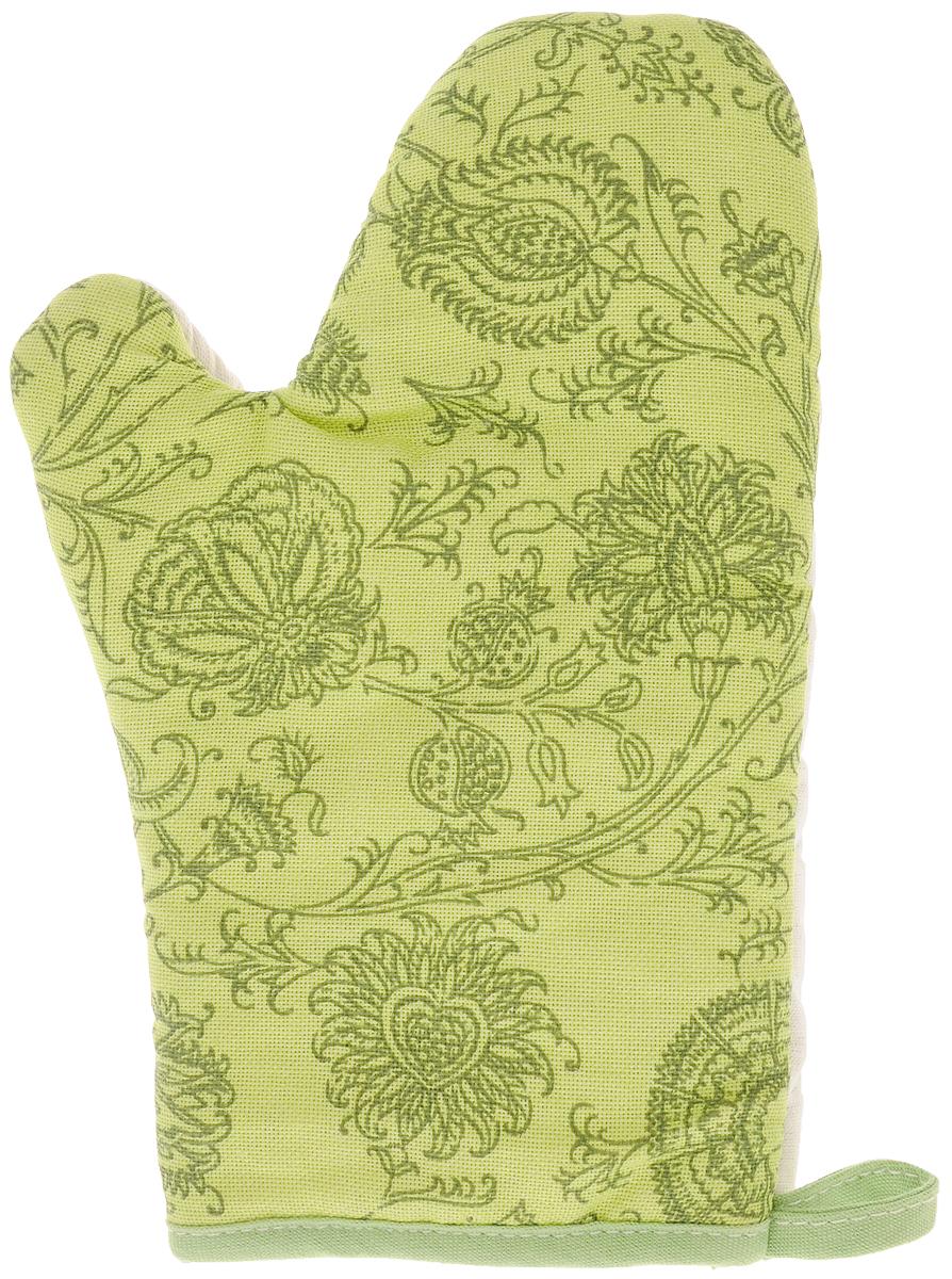 Рукавица Bonita Марципан, 18 х 27 смSS 4041Прихватка для горячего Bonita, выполненная из натурального хлопка в виде красочной рукавицы, станет украшением любой кухни. С помощью специальной петельки рукавицу можно вешать на крючок. Отличный вариант для практичной и современной хозяйки.