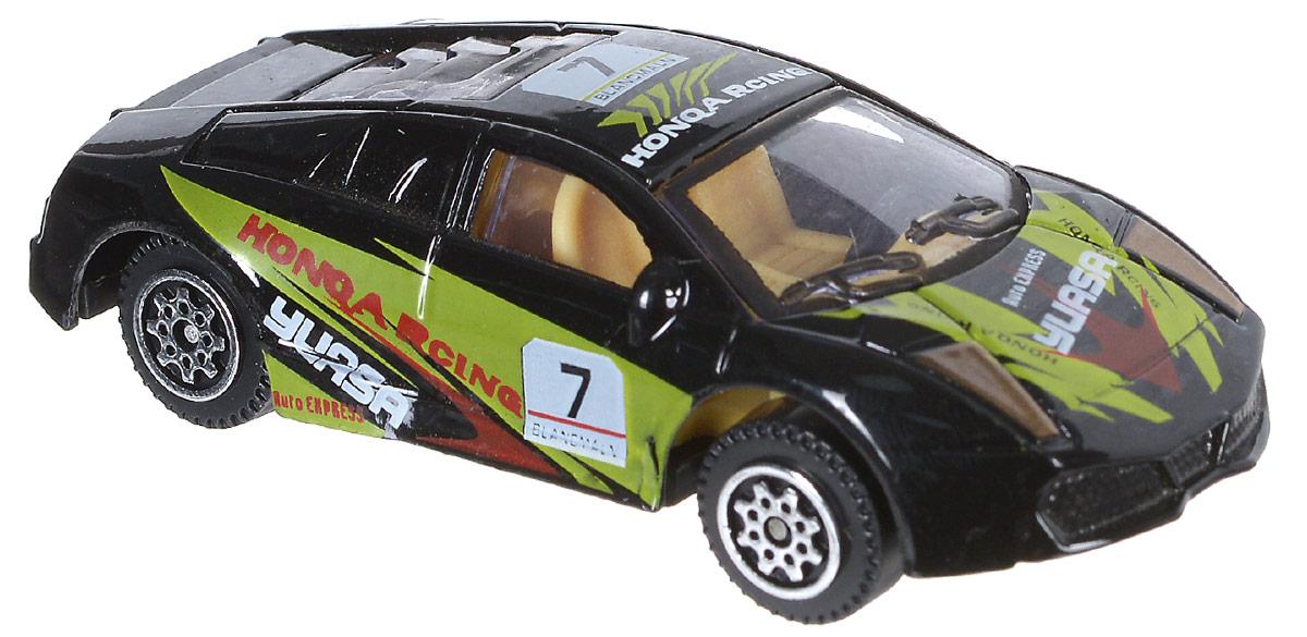 Shantou Машинка Pocket Car цвет черный зеленый