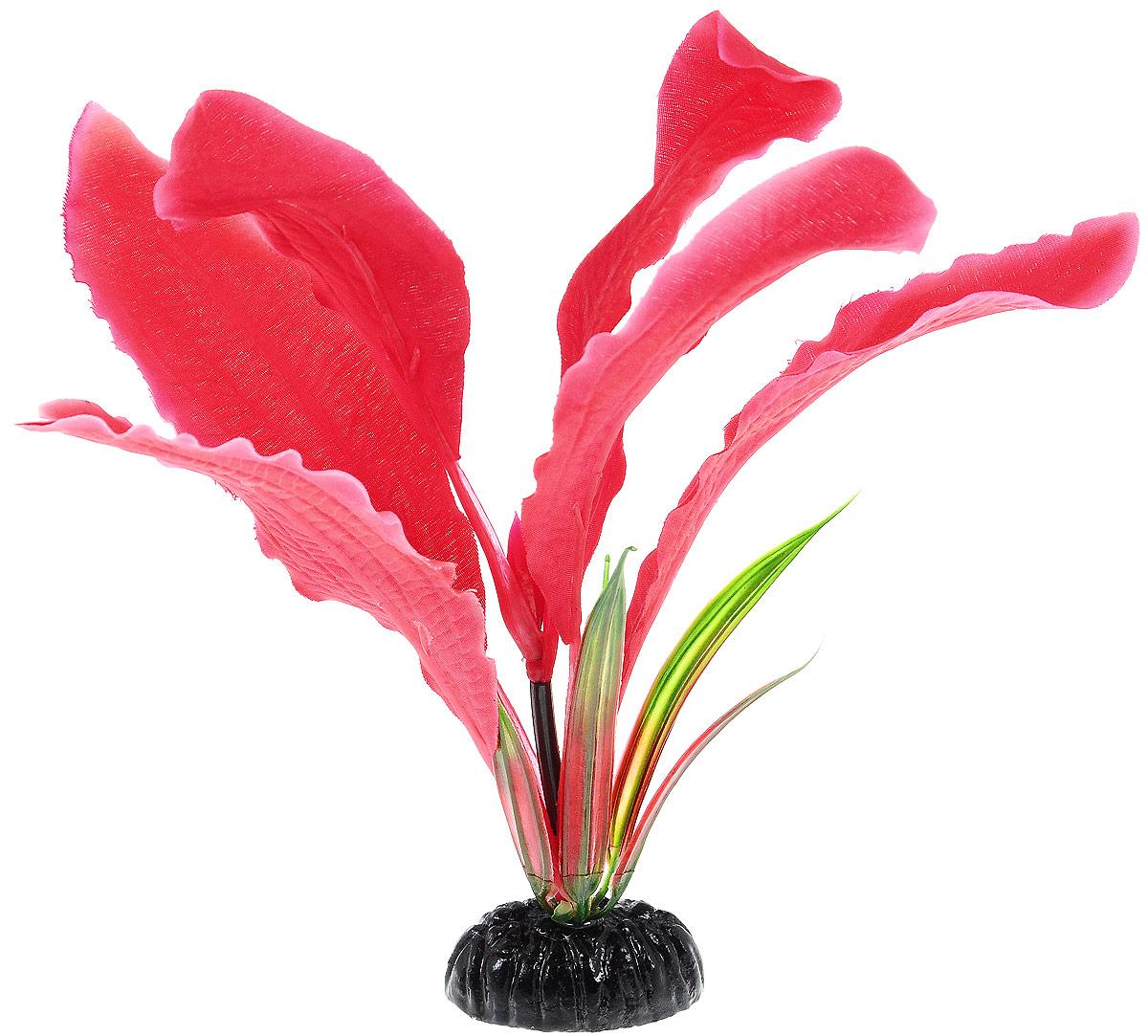"""Растение для аквариума Barbus """"Апоногетон Мадагаскарский"""", шелковое, высота 20 см Plant 041/20"""