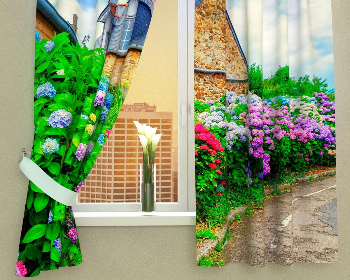Комплект фотоштор Сирень Загородный сад, на ленте, высота 160 см03008-ФК-ГБ-002Фотошторы для кухни Сирень Загородный сад, выполненные из габардина (100% полиэстера), отлично дополнят украшение любого интерьера. Особенностью ткани габардин является небольшая плотность, из-за чего ткань хорошо пропускает воздух и солнечный свет. Ткань хорошо держит форму, не требует специального ухода. Крепление на карниз при помощи шторной ленты на крючки. В комплекте 2 шторы. Ширина одного полотна: 145 см. Высота штор: 160 см. Рекомендации по уходу: стирка при 30 градусах, гладить при температуре до 110 градусов. Изображение на мониторе может немного отличаться от реального. Подхваты в комплект не входят.