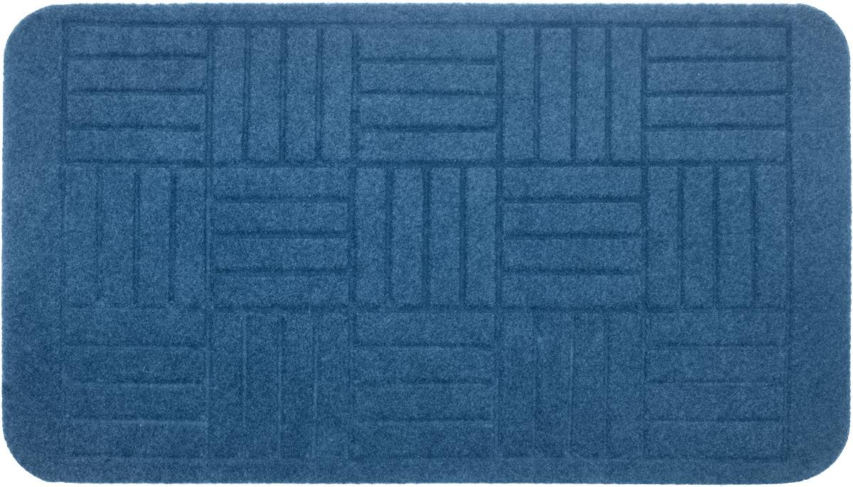 Коврик придверный EFCO Оскар. Паркет, цвет: голубой, 70 х 40 смUP210DFОригинальный придверный коврик EFCO Оскар. Паркет надежно защитит помещение от уличной пыли и грязи. Изделие выполнено из 100% полипропилена, основа - латекс. Такой коврик сохранит привлекательный внешний вид на долгое время, а благодаря латексной основе, он легко чистится и моется.