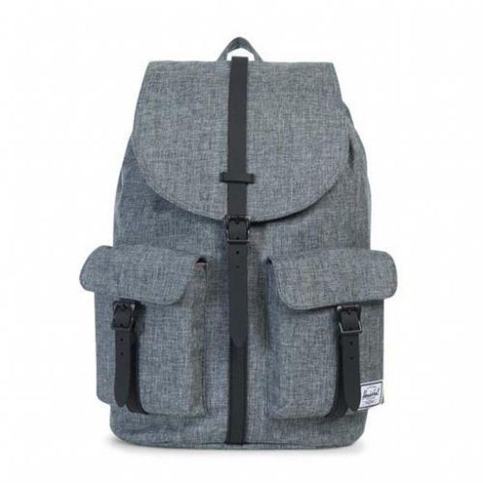 Рюкзак городской Herschel Dawson Raven Crosshatch Black, 20,5 л10233-00919-OSРюкзак Herschel Dawson - функциональный и вместительный, создан для разведки. Удобные внешние карманы.