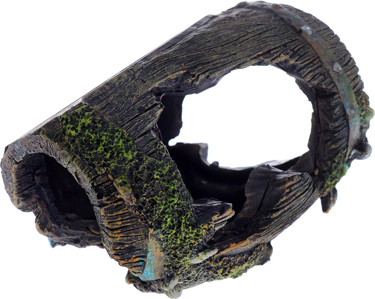 Декорация для аквариума Barbus Бочка, 12 х 8,5 х 9 смDecor 054Декорация для аквариума Barbus Бочка, выполненная из высококачественного нетоксичного полирезина, станет прекрасным украшением вашего аквариума. Изделие отличается реалистичным исполнением с множеством мелких деталей и отверстий. Ведь многие обитатели аквариума используют декорации как укрытия, в которых они живут и размножаются. Декорация абсолютно безопасна, нейтральна к водному балансу, устойчива к истиранию краски, подходит как для пресноводного, так и для морского аквариума. Благодаря декорациям Barbus вы сможете смоделировать потрясающий пейзаж на дне вашего аквариума или террариума.