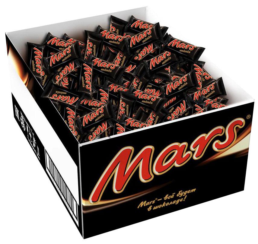 Mars minis шоколадный батончик, 2,7 кг0120710Mars minis - это уникальное сочетание нуги, карамели и лучшего молочного шоколада. Знакомый всем с детства Mars в формате minis удобно разделить с друзьями, коллегами, близкими и родными. Сложно найти для чаепития что-то более подходящее, чем Mars minis.Уважаемые клиенты! Обращаем ваше внимание, что полный перечень состава продукта представлен на дополнительном изображении.