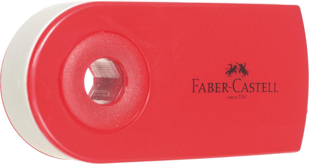 Faber-Castell Ластик-мини Sleeve цвет красный182411_красныйЛастик-мини Faber-Castell Sleeve станет незаменимым аксессуаром на рабочем столе не только школьника или студента, но и офисного работника. Аккуратный, не оставляет грязных разводов. Кроме того, высококачественный ластик не повреждает бумагу даже при многократном стирании. Специальный подвижный колпачок защищает ластик от загрязнения.