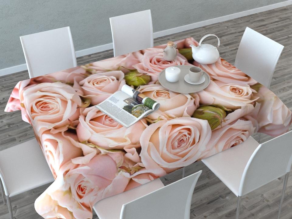 Скатерть Сирень Молодые розы, прямоугольная, 145 x 120 см02365-СК-ГБ-003Скатерть Сирень с ярким и объемным рисунком преобразит Вашу кухню, визуально расширит пространство, создаст атмосферу радости и комфорта. Рекомендации по уходу: стирка при 30 градусах гладить при температуре до 110 градусов Изображение может немного отличаться от реального.