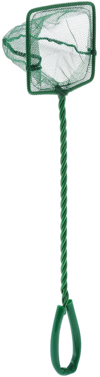 Сачок аквариумный Barbus, 7,5 х 6 см0120710Сачок Barbus предназначен для легкого извлечения рыб или остатков корма из аквариума. Изделие выполнено из металла со специальным пластиковым покрытием. Такой сачок безопасен для рыб, устойчив к коррозии и долговечен. Сетка выполнена из прочного нейлона. На ручке имеется петля для подвешивания. Размер сачка: 7,5 х 6 см. Длина ручки: 25 см.